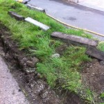 an image of kerb excavation