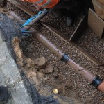 an image of an underground network of pipes being improved