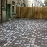 an image of a freshly laid concrete slabs