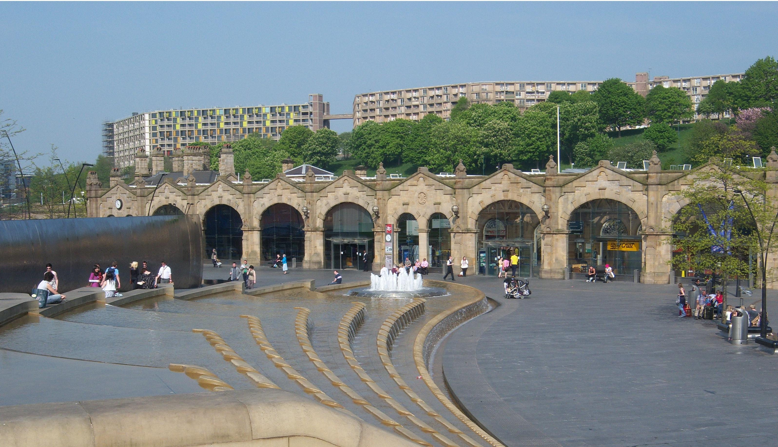 an image of the Sheffield Railway Station